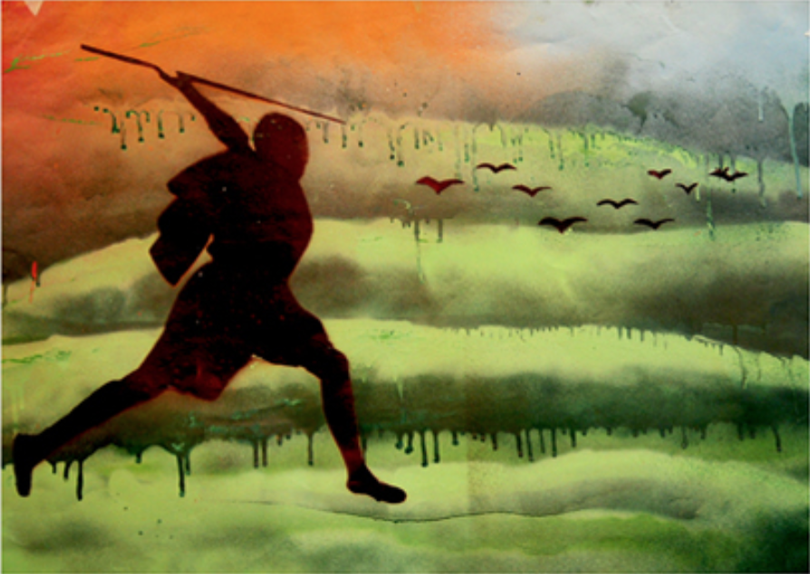 A visual interpretation of the film created by students at Cheney High School, as part of the Oxford Brookes University Human Rights Film Festival, 2011